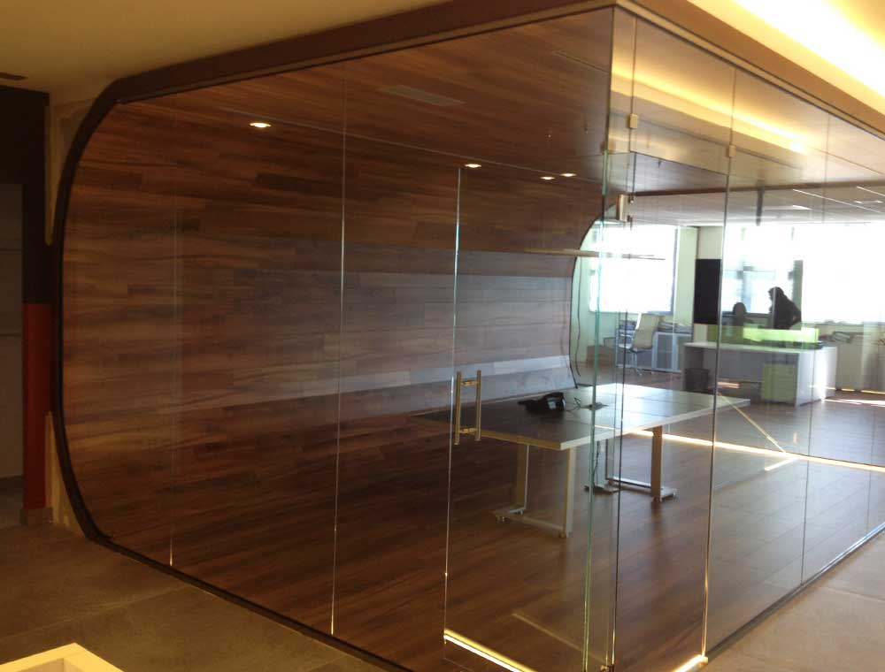 Glass Wall Interior
