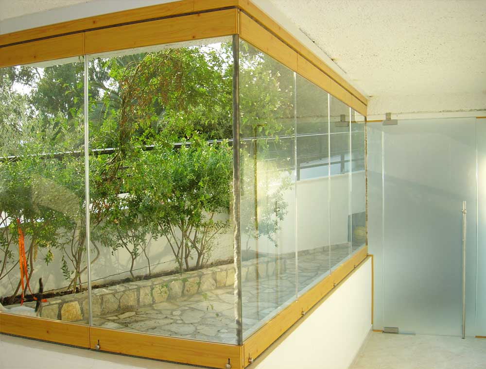 Sliding Glass Wall System