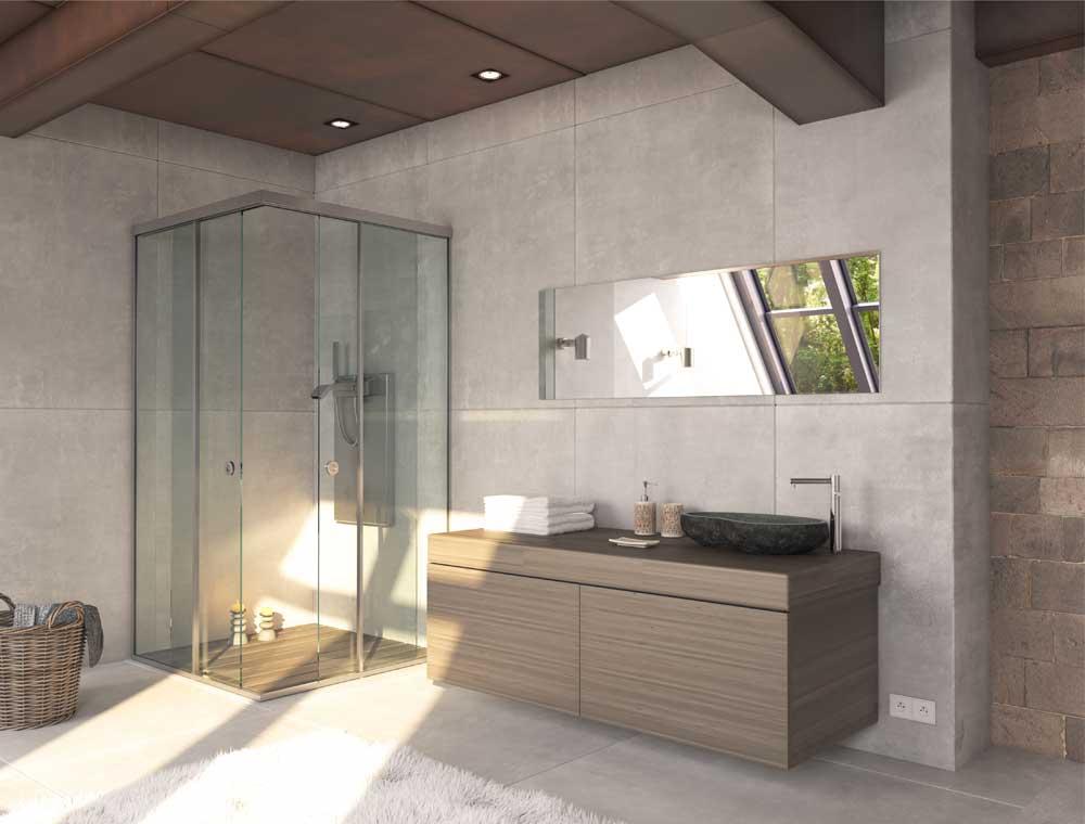 Shower cabins: Shower cabin SH 56 45