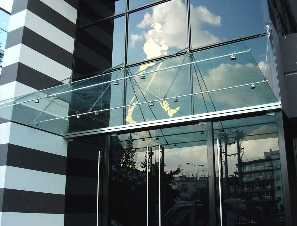 Glass Canopies Frameless Glass Canopy