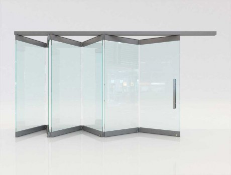 Folding glass doors F1