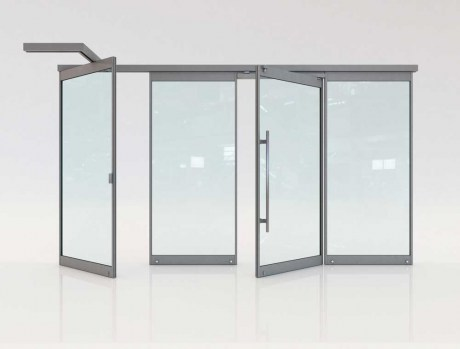 Folding glass doors F3